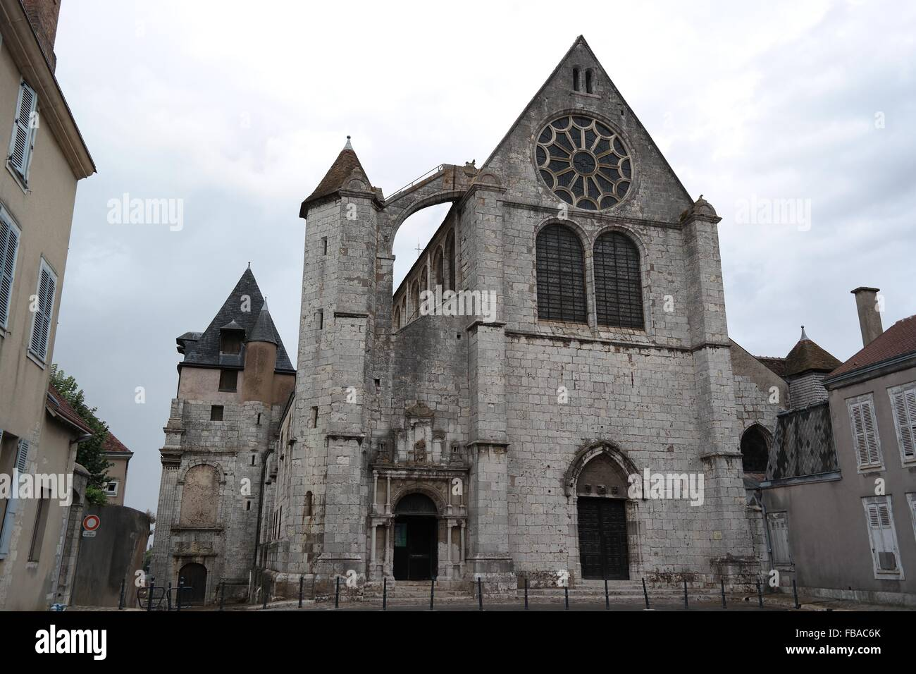 Saint Pierre Church - église St Pierre, Chartres - Stock Image