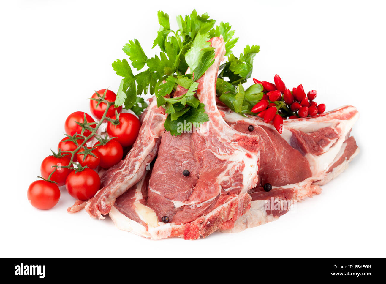 Florentine Steaks - Stock Image