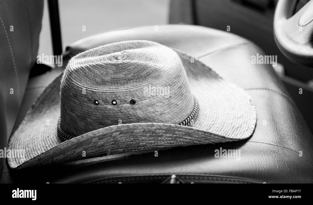 86256b7ada8 Cowboy Hat Black and White Stock Photos   Images - Alamy
