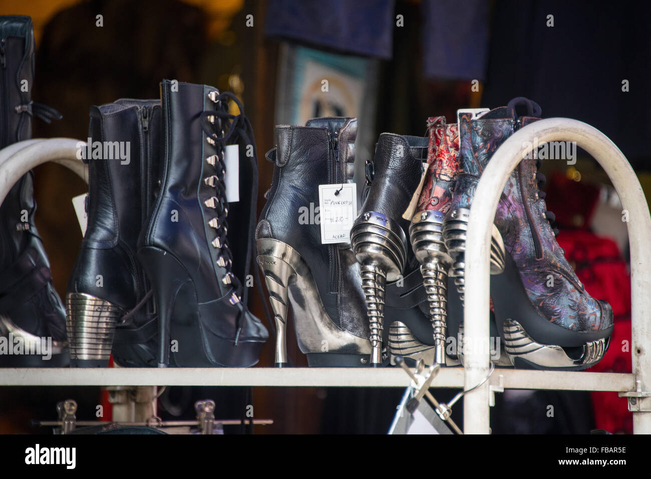 Trendy Footwear - Stock Image