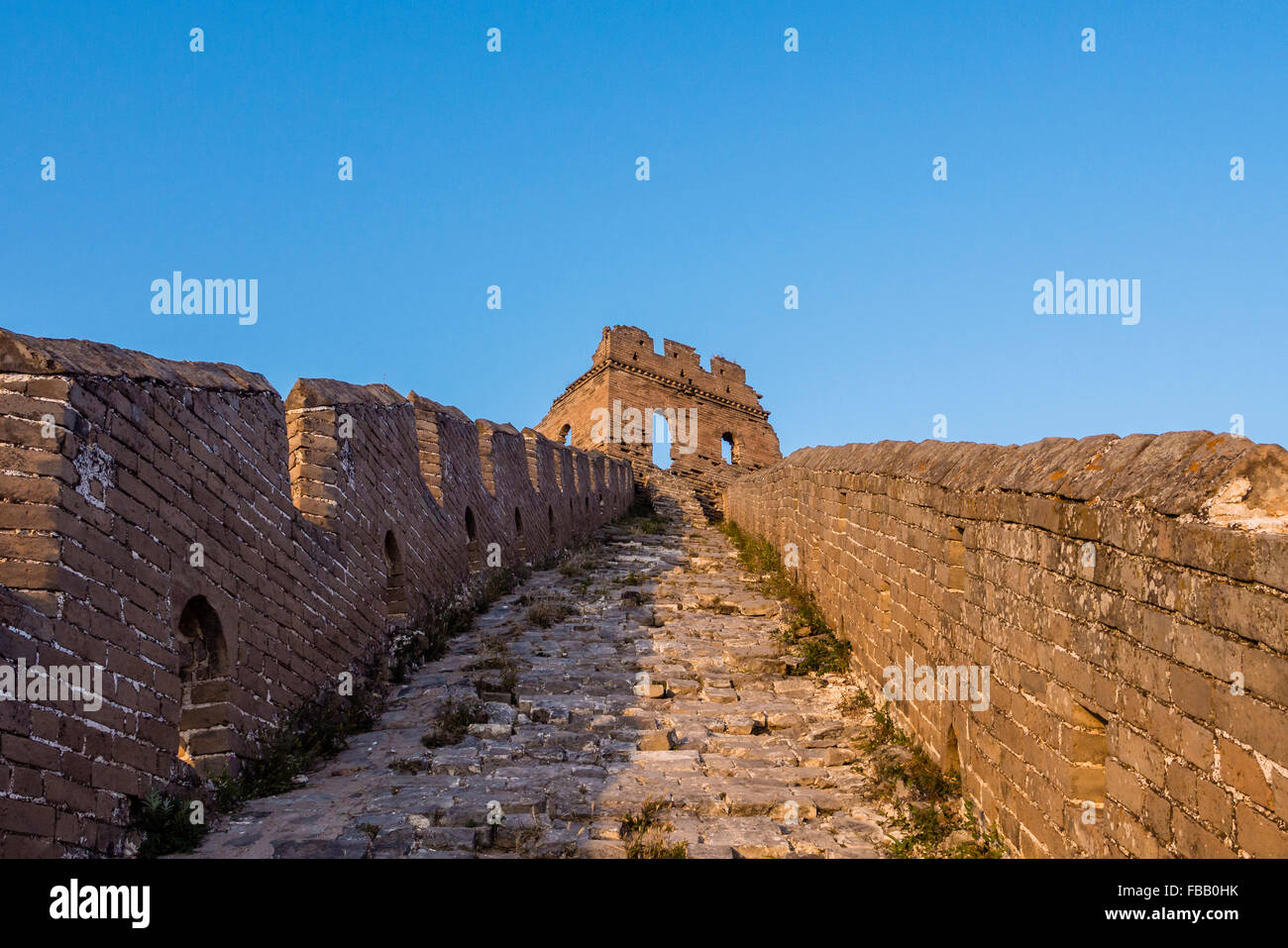 Jinshanling Great Wall,Hebei Province,China - Stock Image
