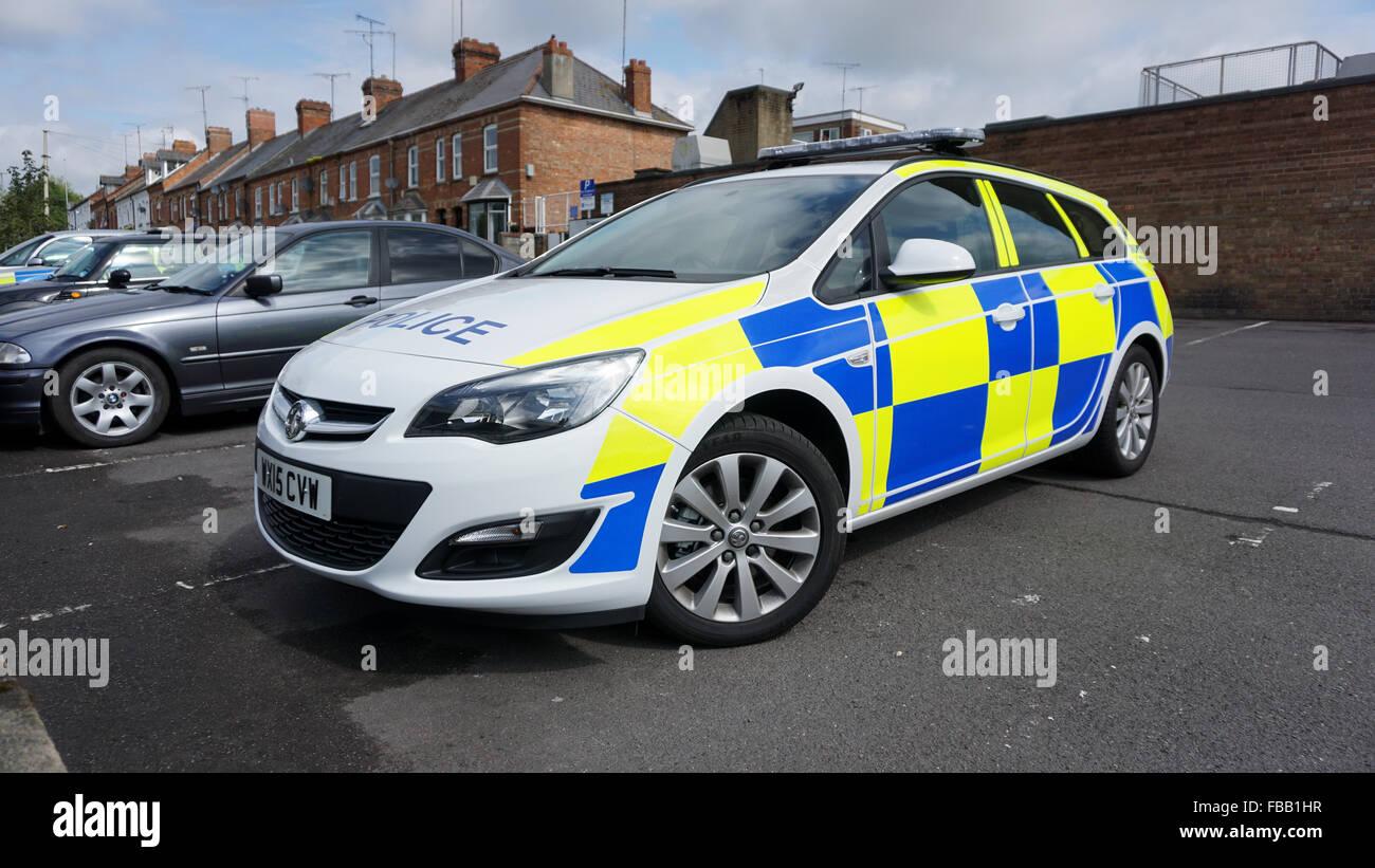 Police Car - Avon & Somerset Police Stock Photo