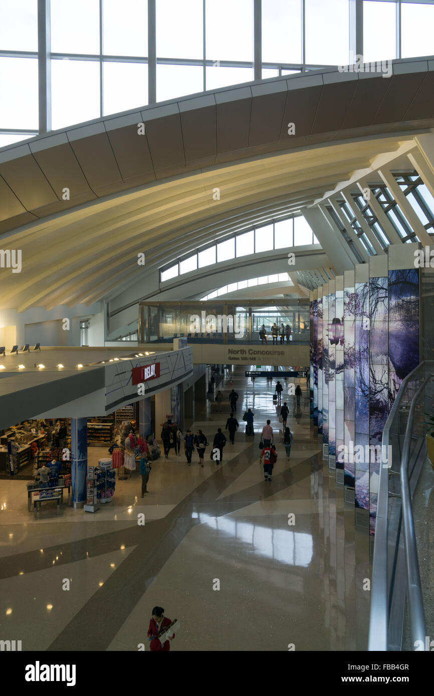 Bradley Terminal LAX - Stock Image