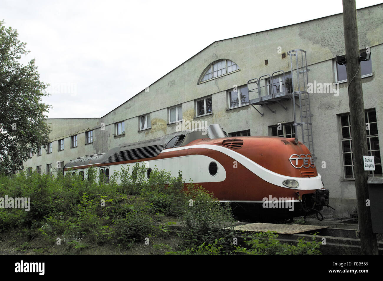 Trans-Europe Express (TEE) awaiting restoration - Stock Image