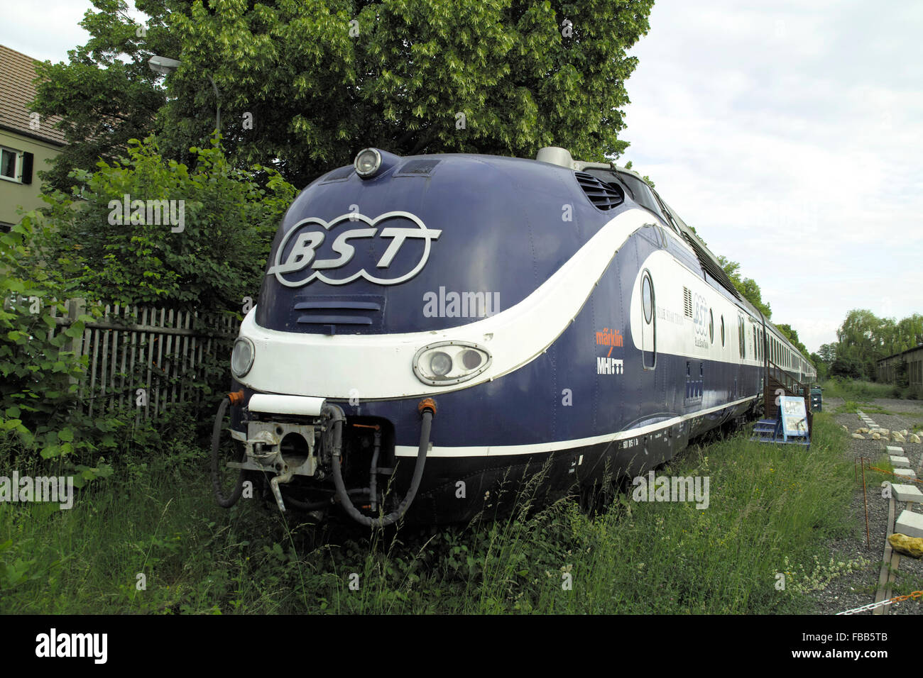 Trans-Europe Express (TEE) - Stock Image