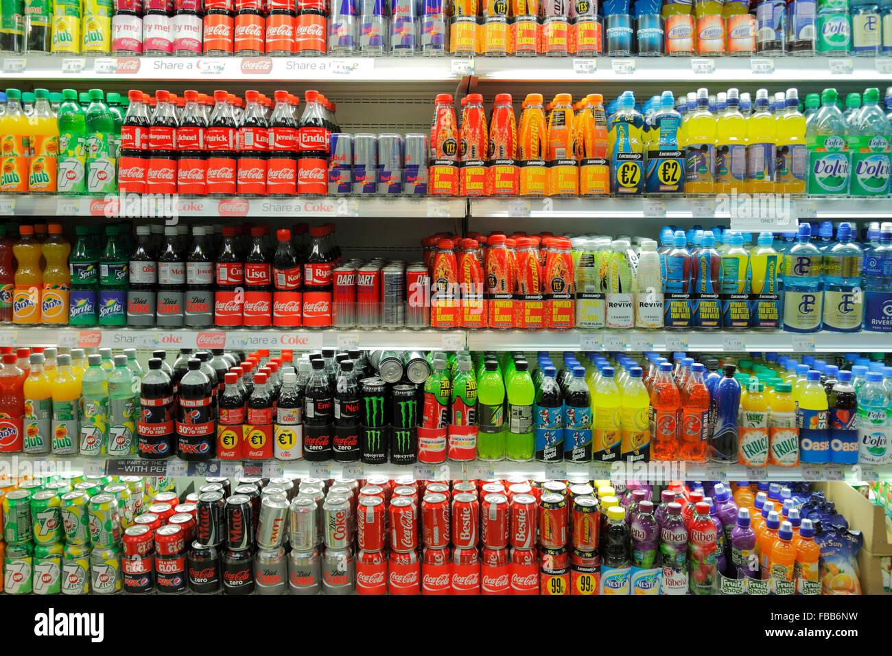Soft Drinks In Supermarkets