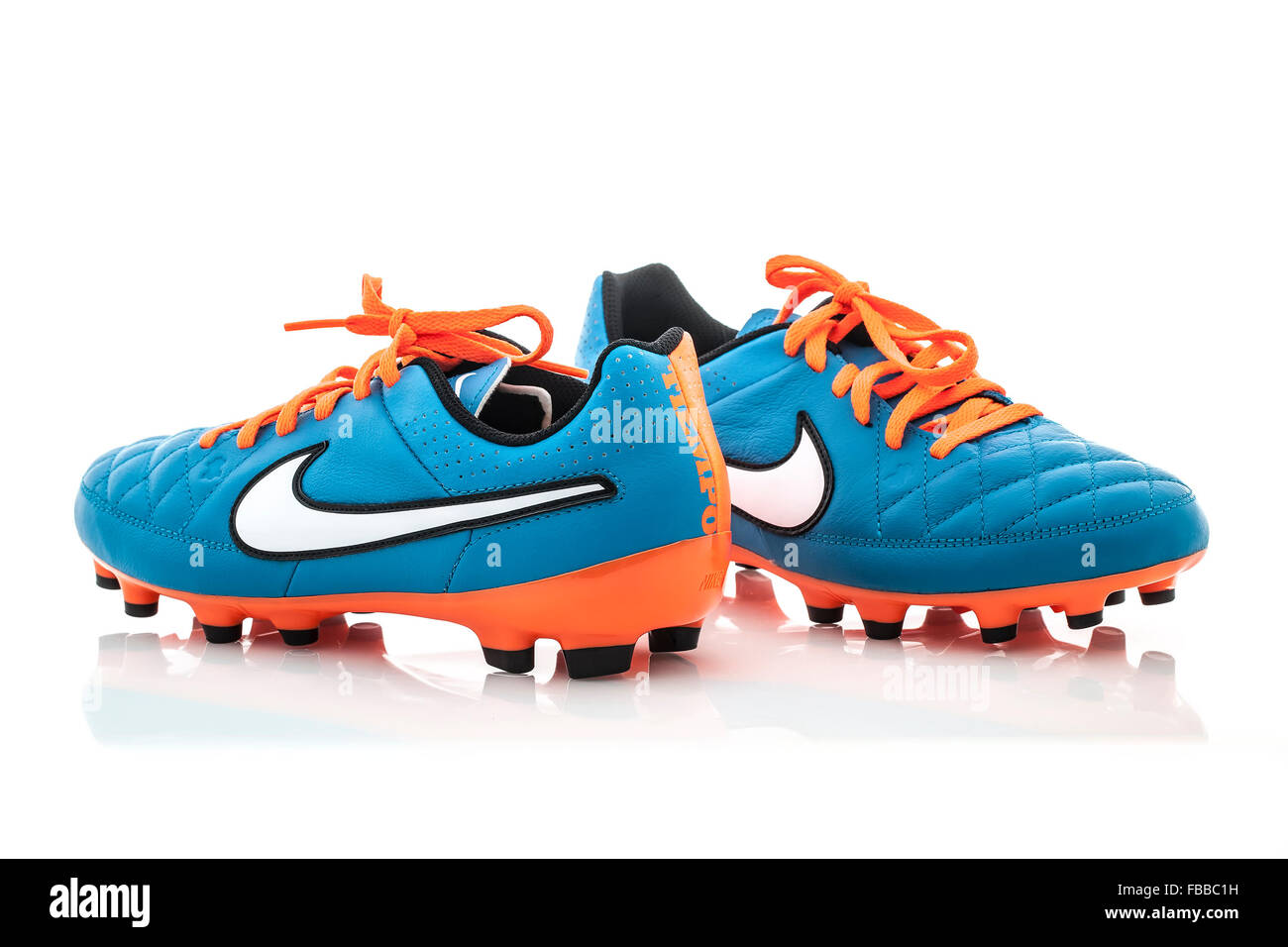 efe5f3798 Nike Football Boots Stock Photos   Nike Football Boots Stock Images ...