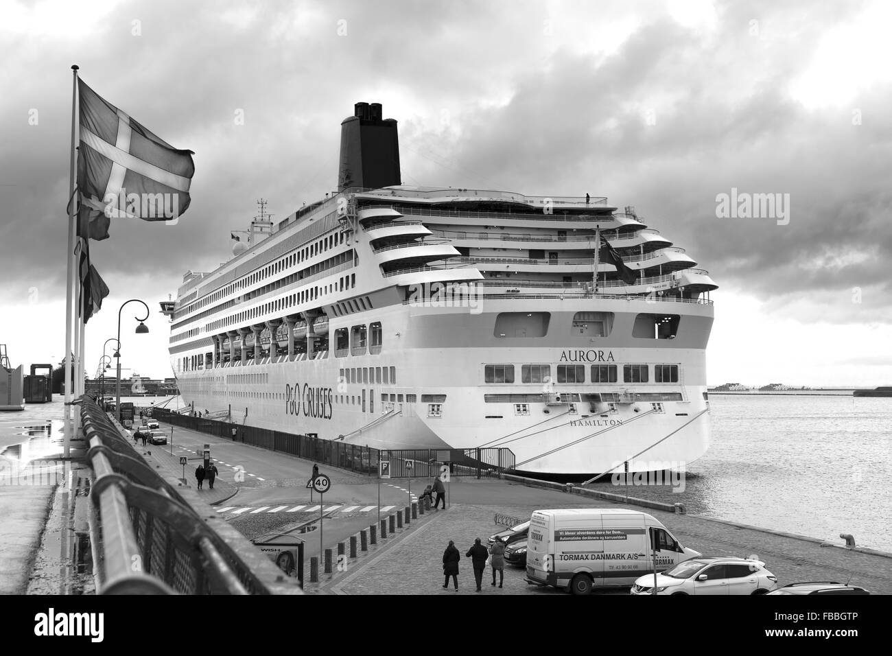 Passenger Ship Black And White Stock Photos Images Alamy Tormax Wiring Diagram Copenhagen Denmark Image
