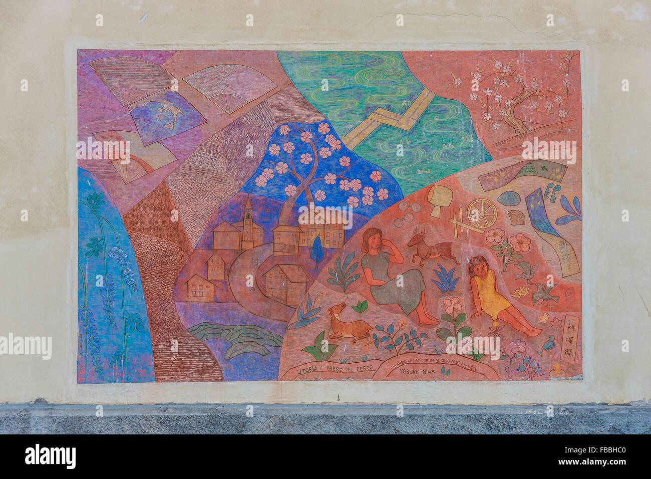 Veneto Masariè  'Too ghen kio, utopia' (Yosuke Niwa - 1988) - Stock Image
