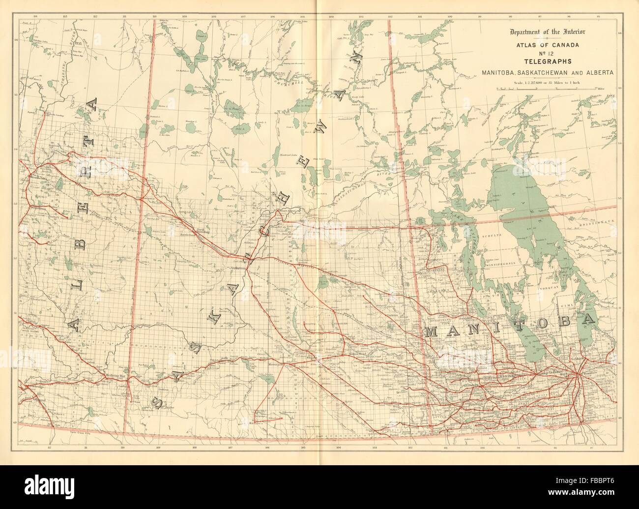 Manitoba saskatchewan and alberta telegraph cables canada white manitoba saskatchewan and alberta telegraph cables canada white 1906 map gumiabroncs