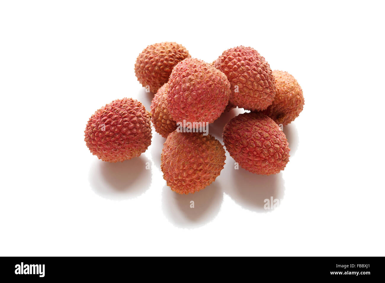 lychee or litchi chinensis - Stock Image