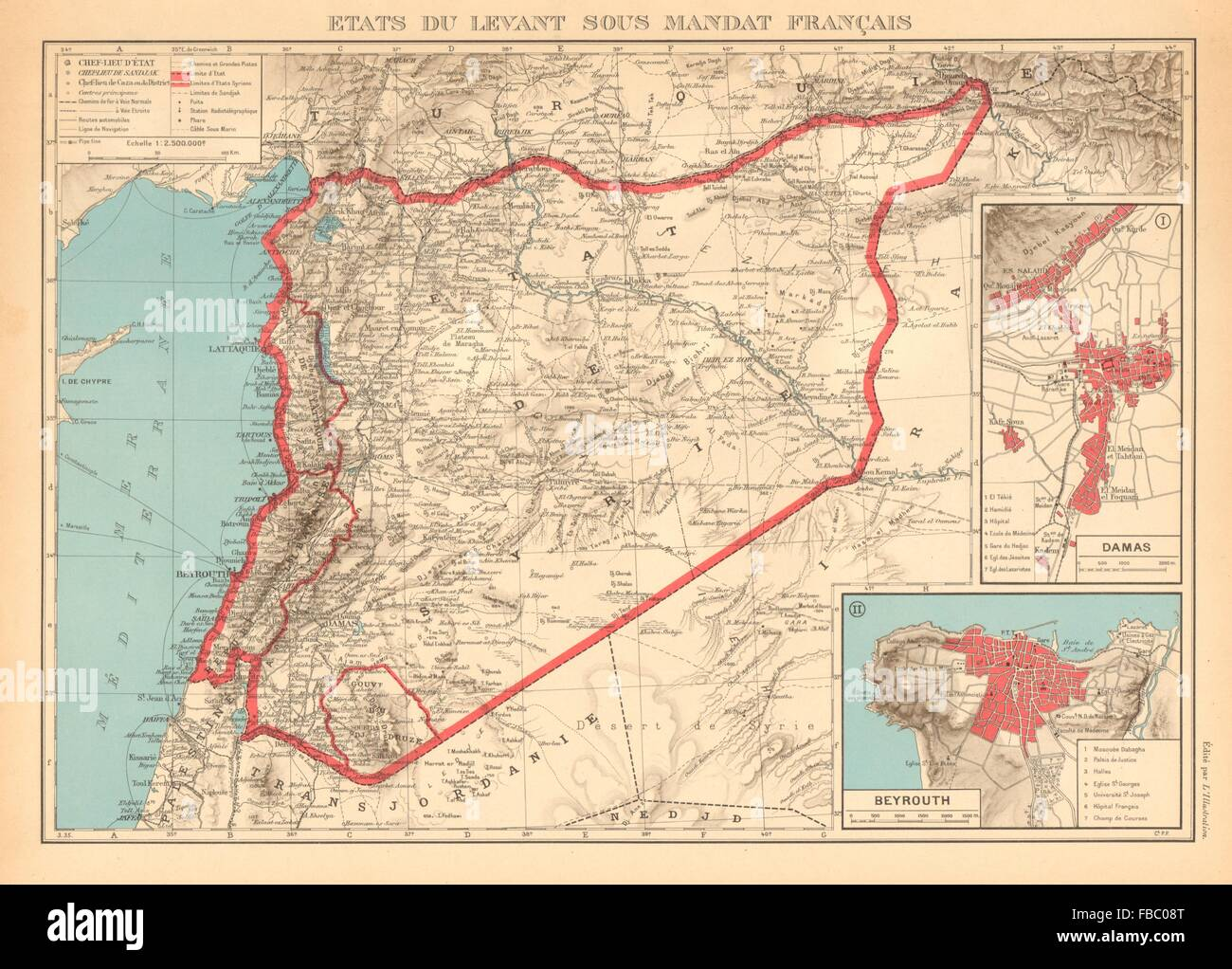 french mandate in lebanon