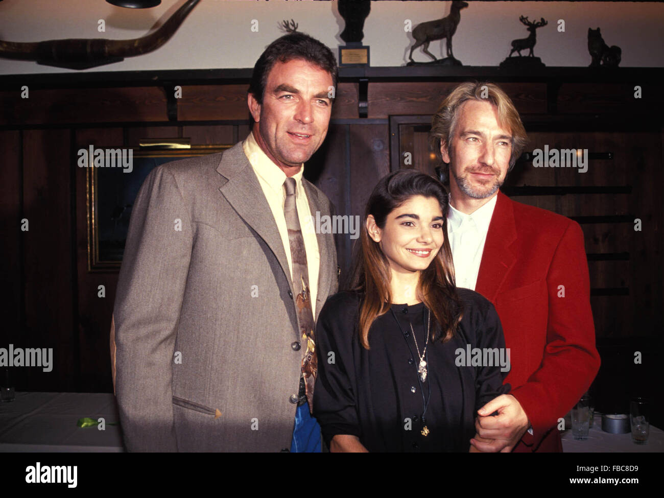 File. 14th Jan, 2016. Actor ALAN RICKMAN, known for films including Harry Potter, Die Hard and Robin Hood: Prince - Stock Image