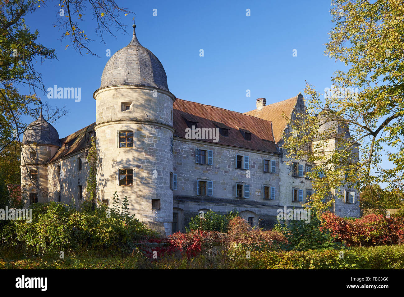 Castle Mitwitz, Bavaria, Germany - Stock Image