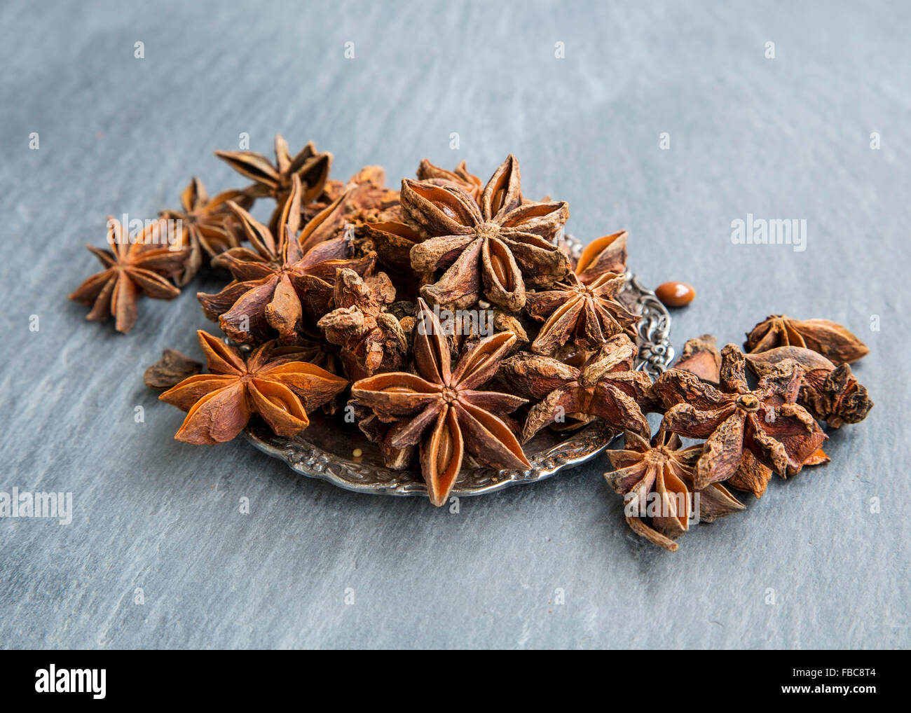 Anise Stars , Healthy Aromatic Condiment - Stock Image