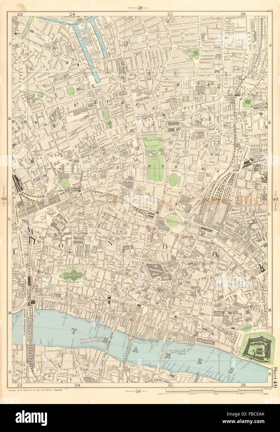 Shoreditch Map: Shoreditch London Map High Resolution Stock Photography
