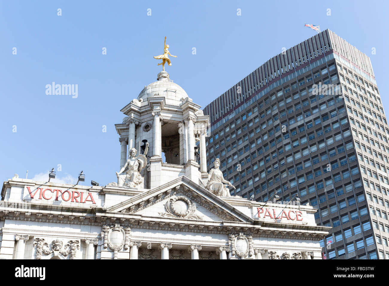 Victoria Palace Theatre, London, United Kingdom - Stock Image