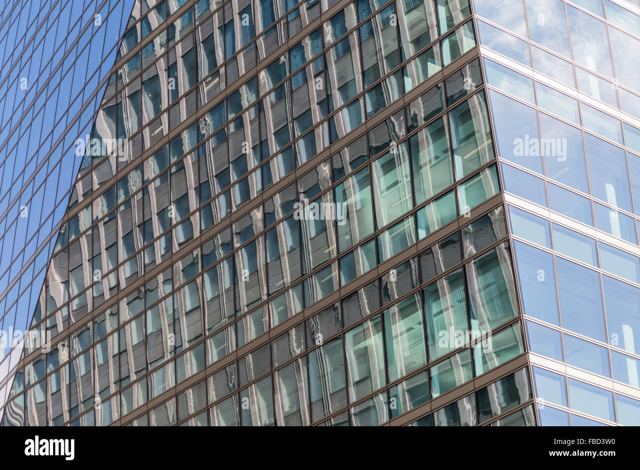Building facades, London, United Kingdom - Stock Image