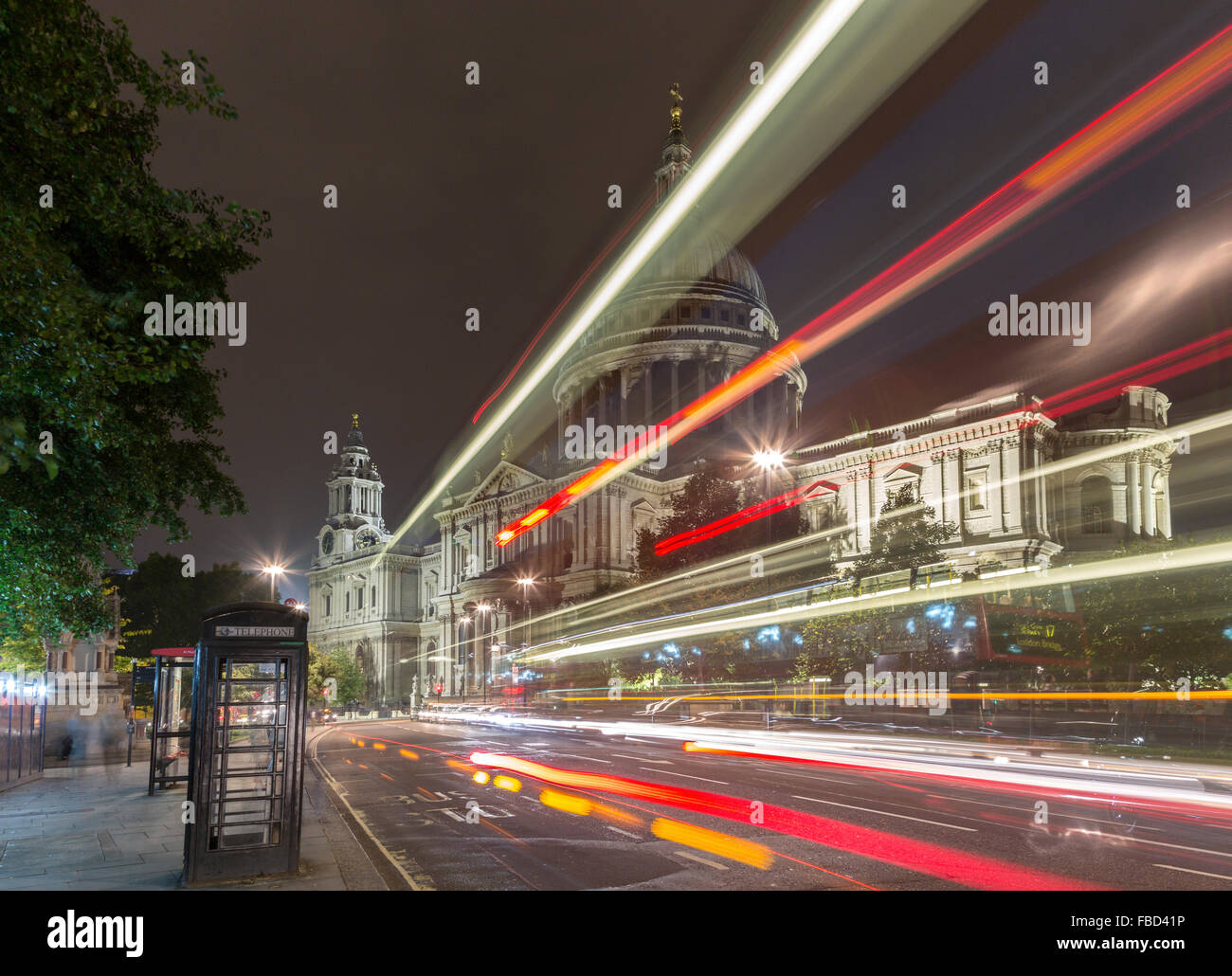 St Paul's Cathedral, London, United Kingdom - Stock Image