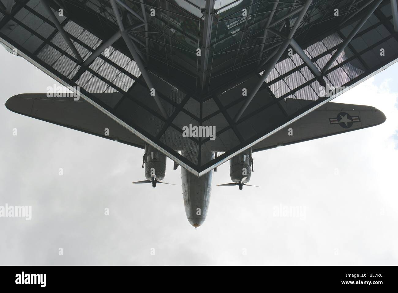 Low Angle View Of Technik Museum Speyer - Stock Image