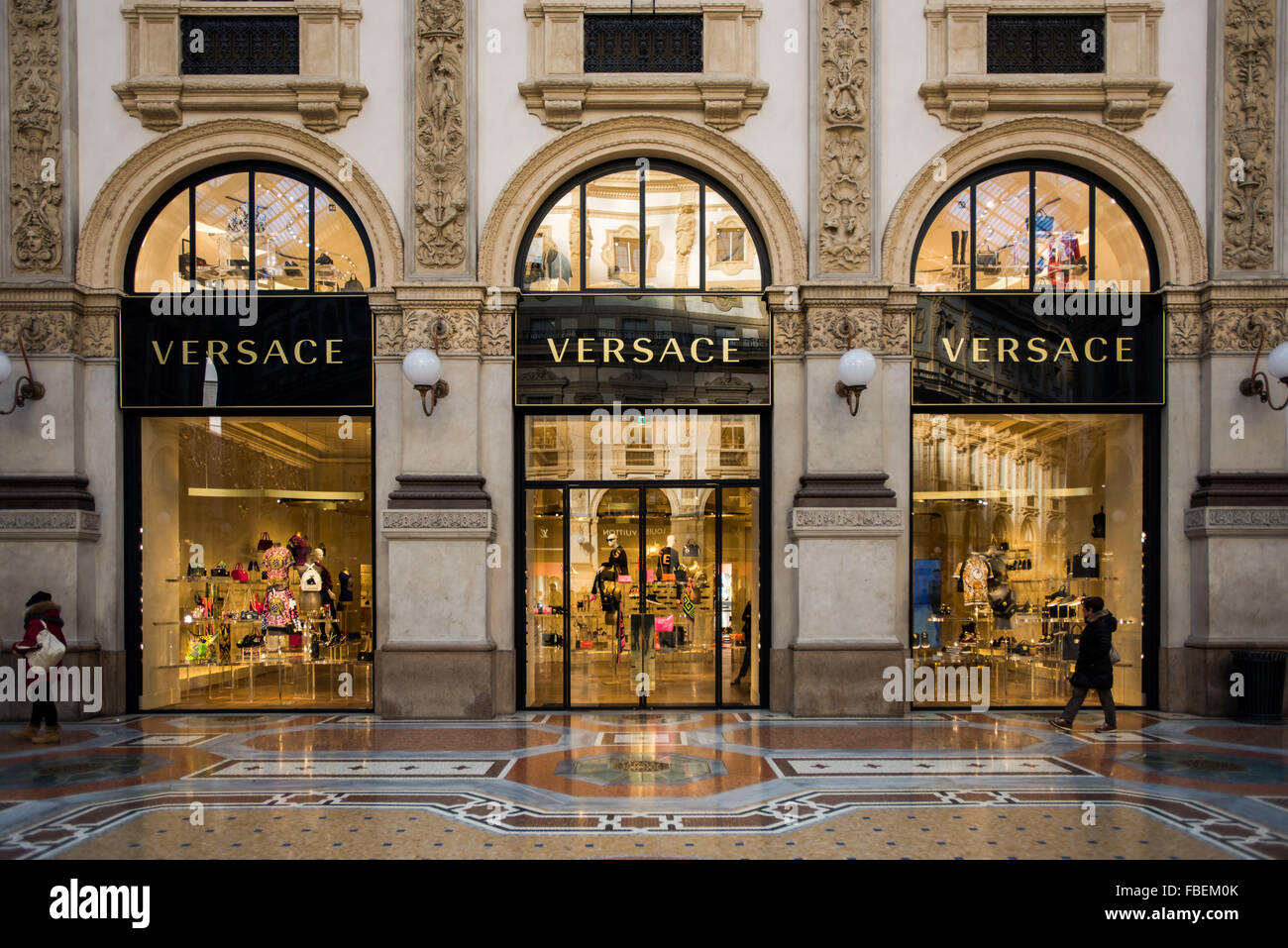 abb1638c5e Versace boutique in Milan on January 15