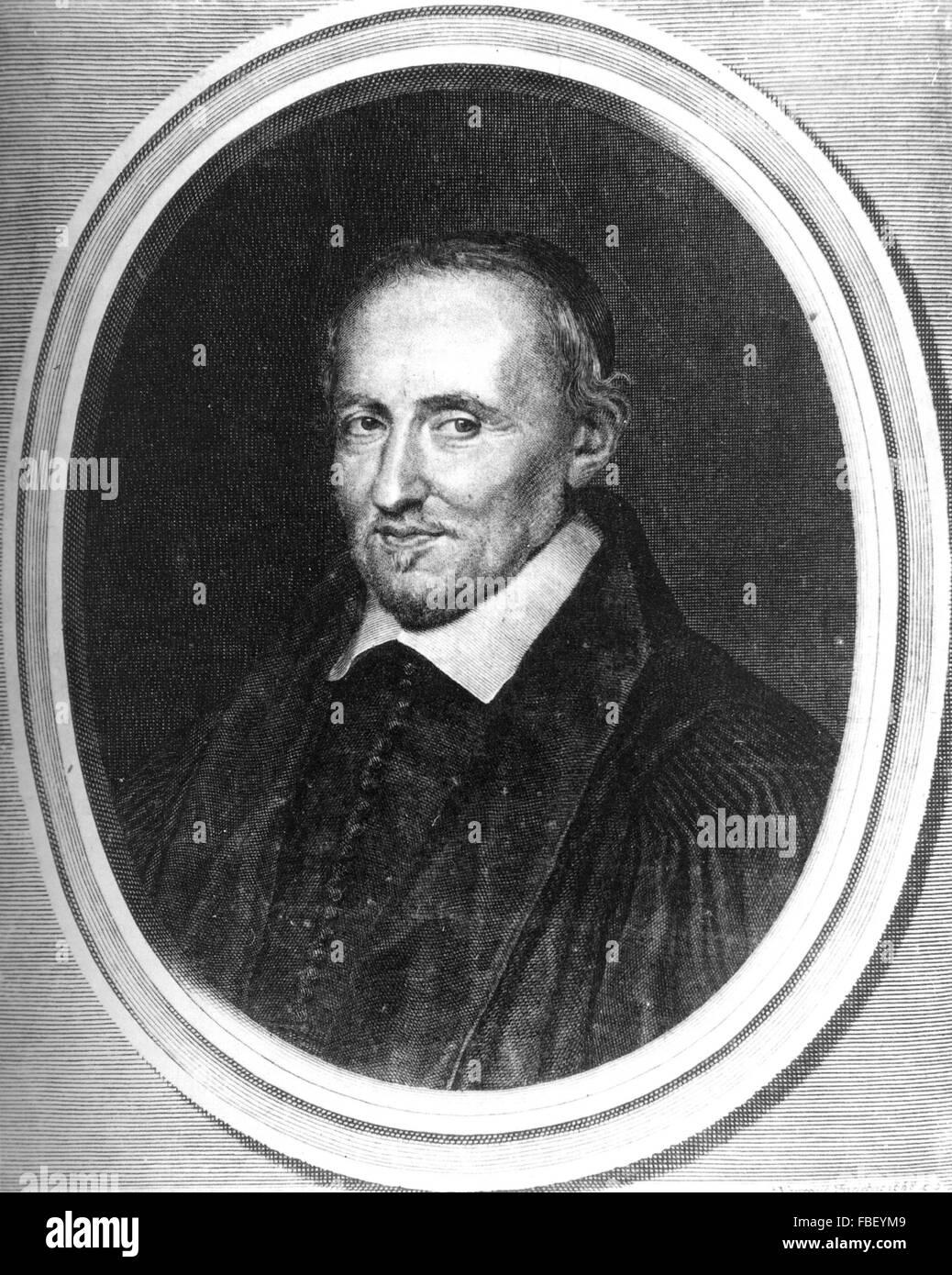 PIERRE GASSENDI (1592-1655) French philospher - Stock Image