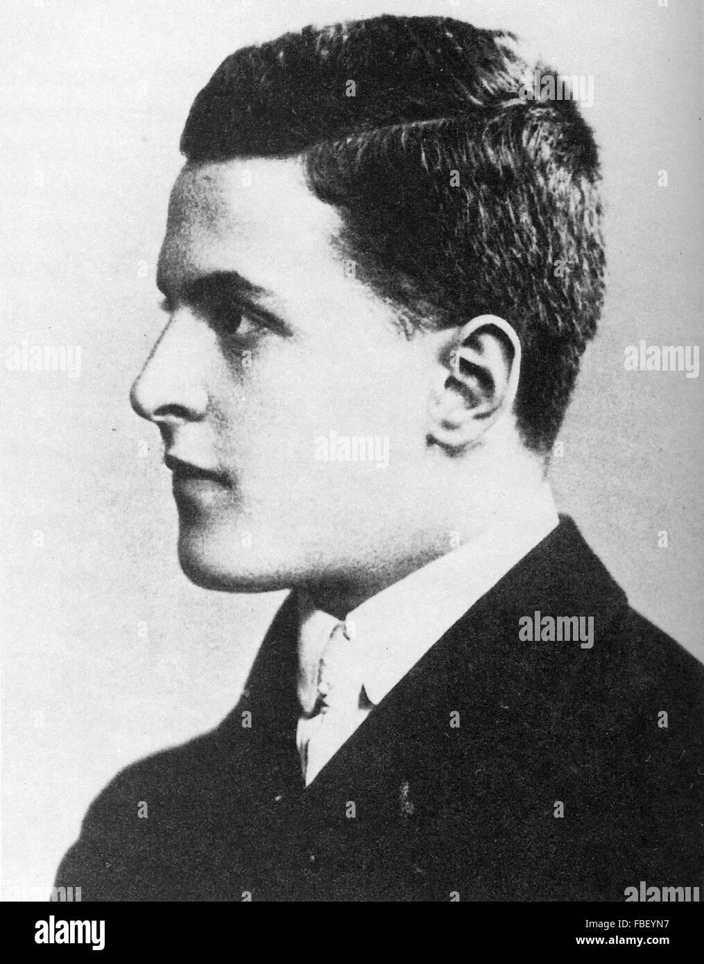 LUDWIG WITTGENSTEIN (1889-1951) Anglo-Austrian philosopher - Stock Image