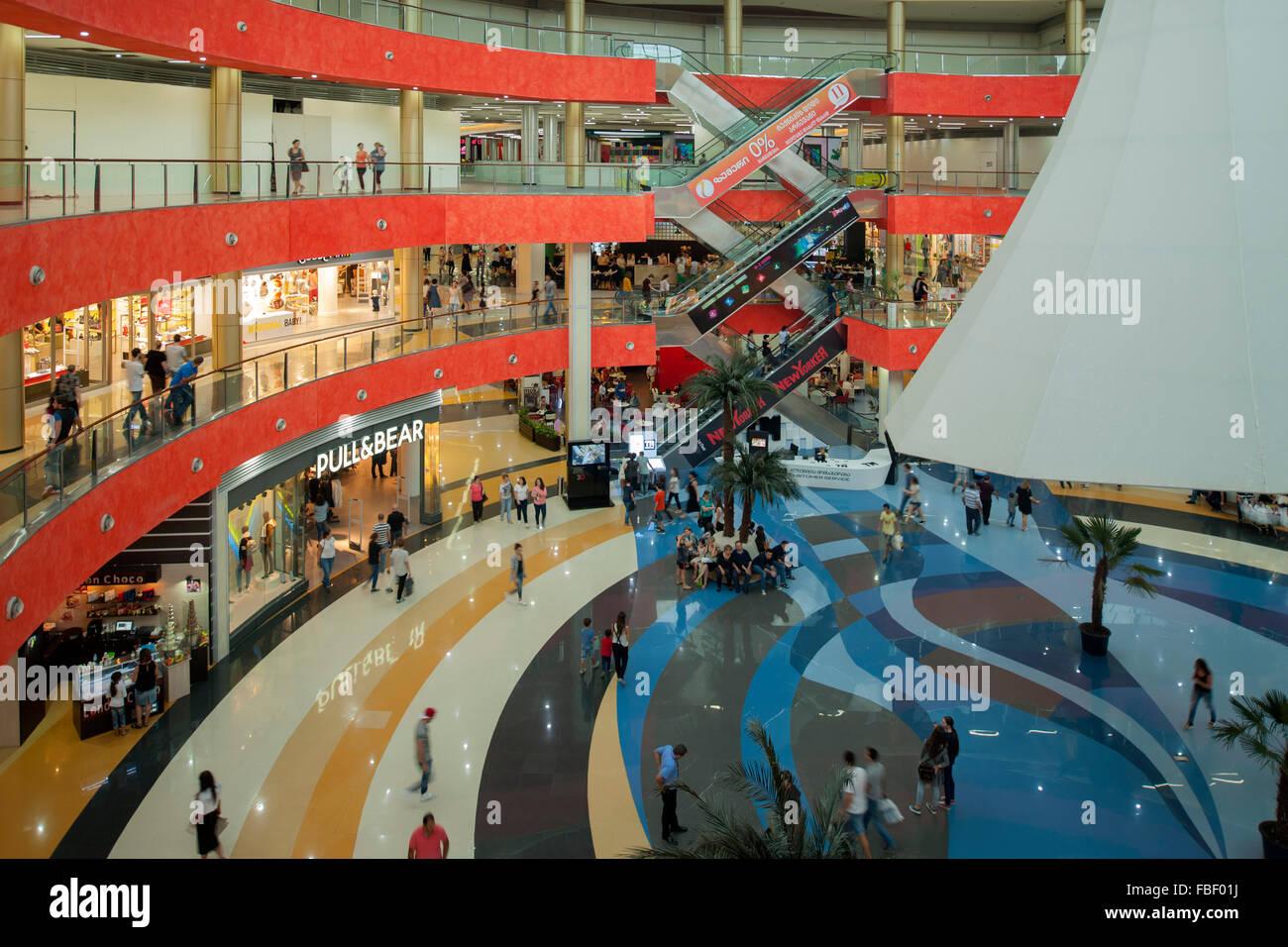 Georgien, Tiflis, Tbilisi Mall, modernes Einkaufszentrum Stock Photo