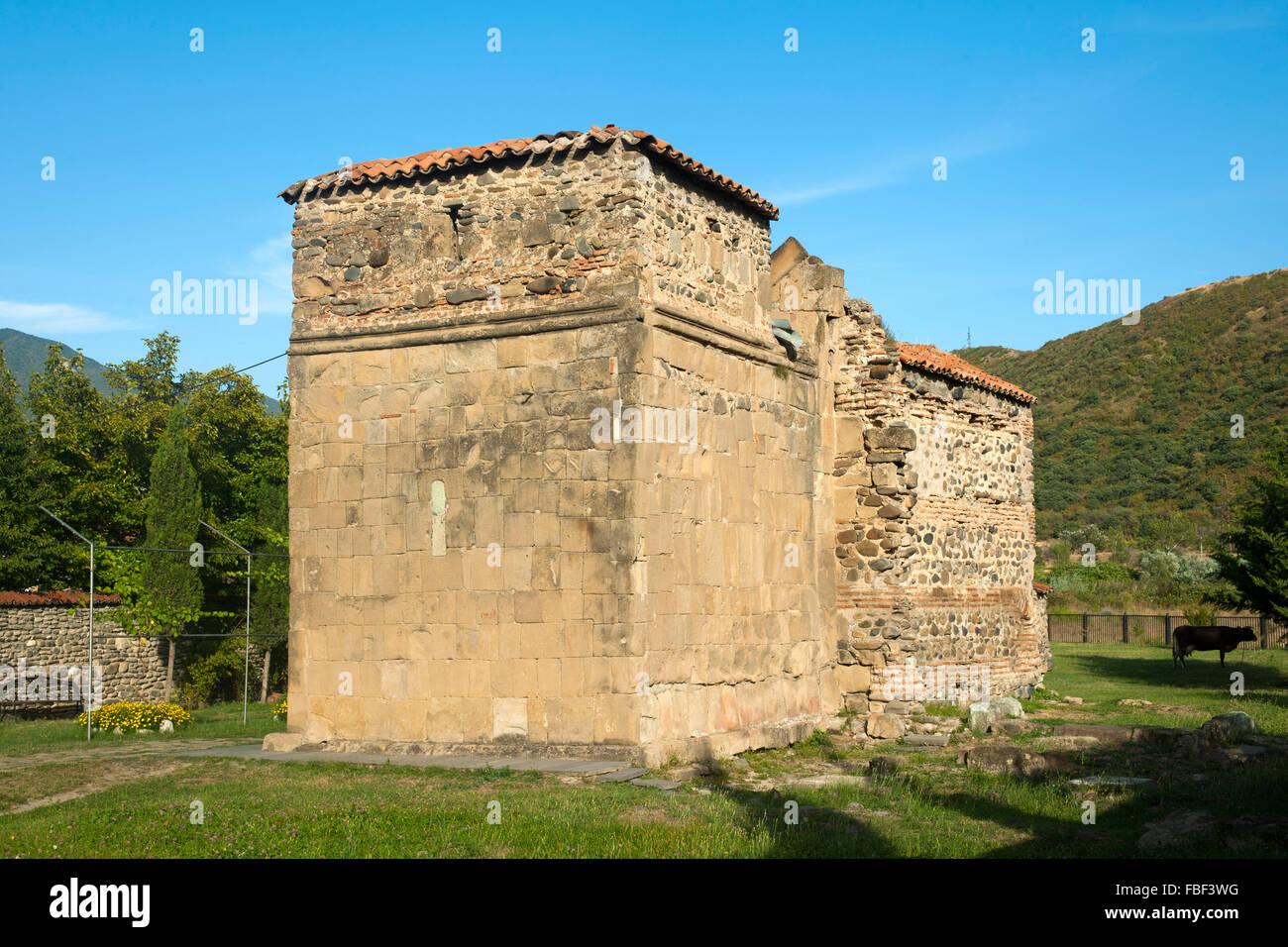 Georgien, Mtskheta, Antiochia-Kirche - Stock Image