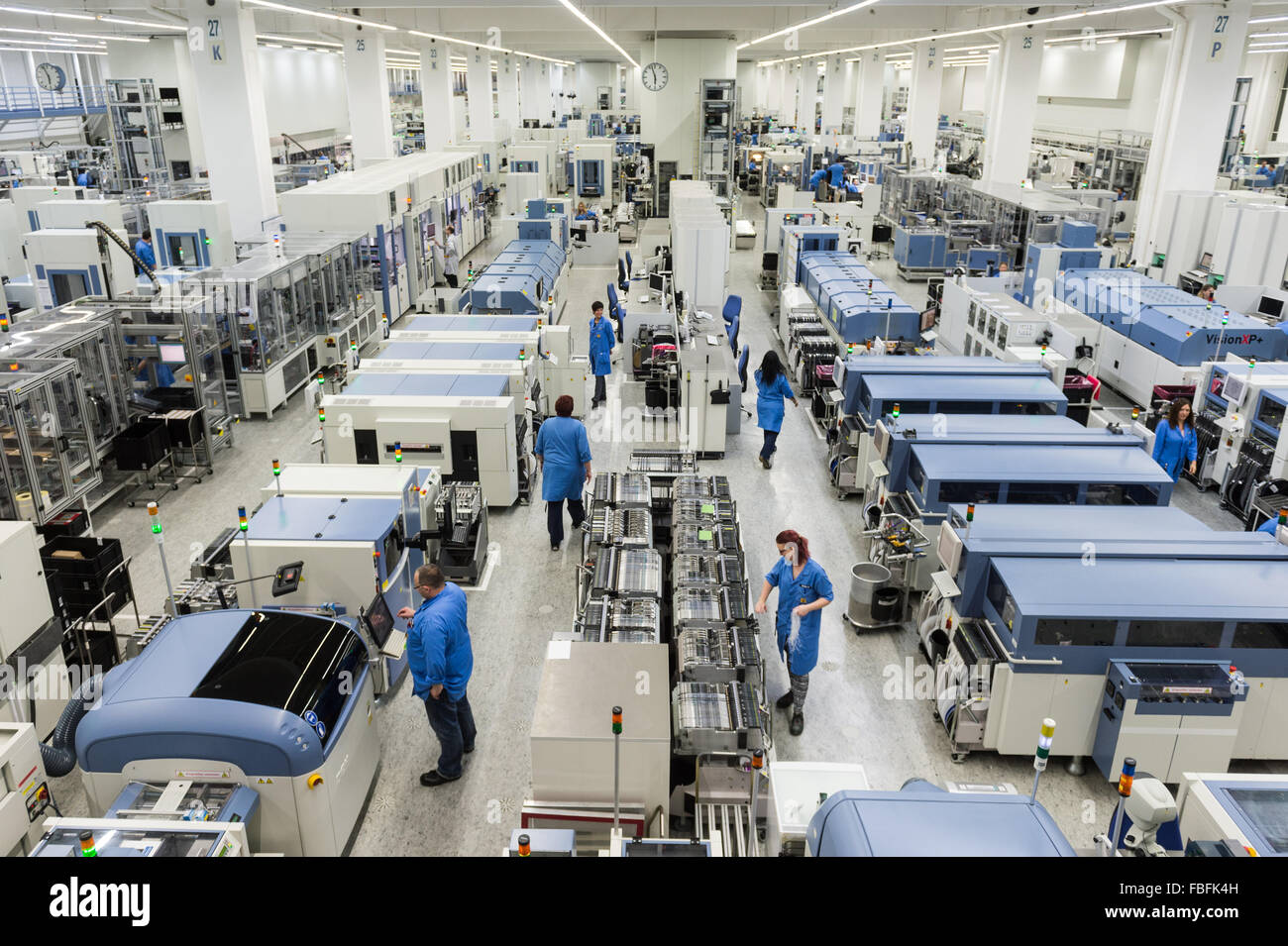 amberg germany 13th jan 2016 employees are busy working on the stock photo 93157361 alamy. Black Bedroom Furniture Sets. Home Design Ideas