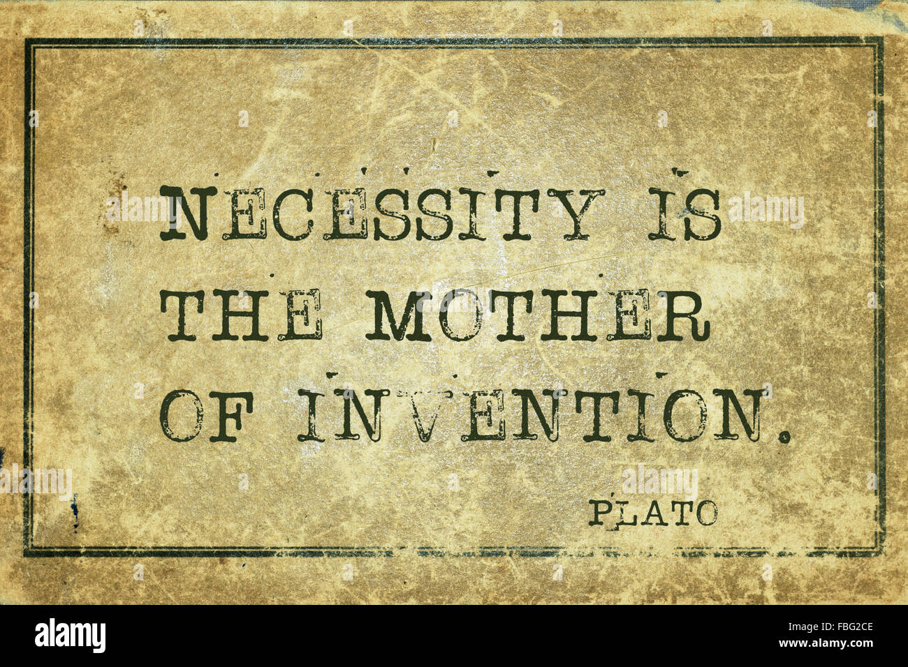 necessity is the mother of invention explanation