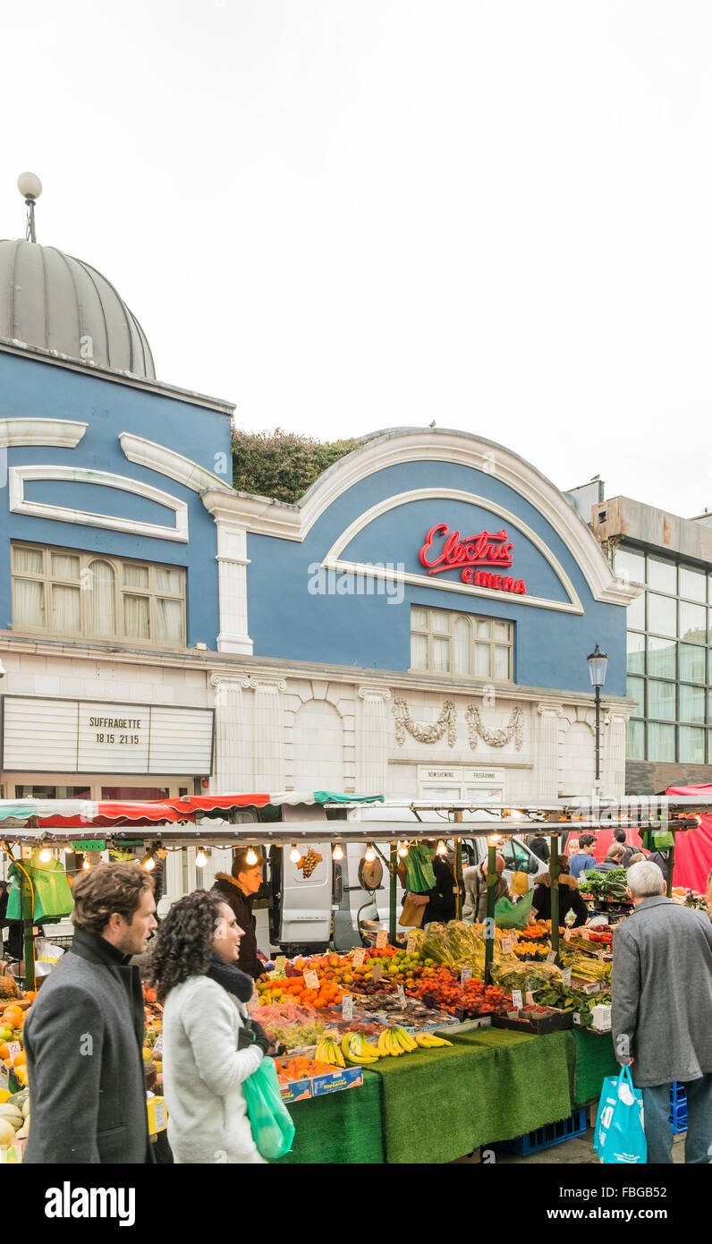 electric cinema, portobello road,  notting hill, london, england - Stock Image