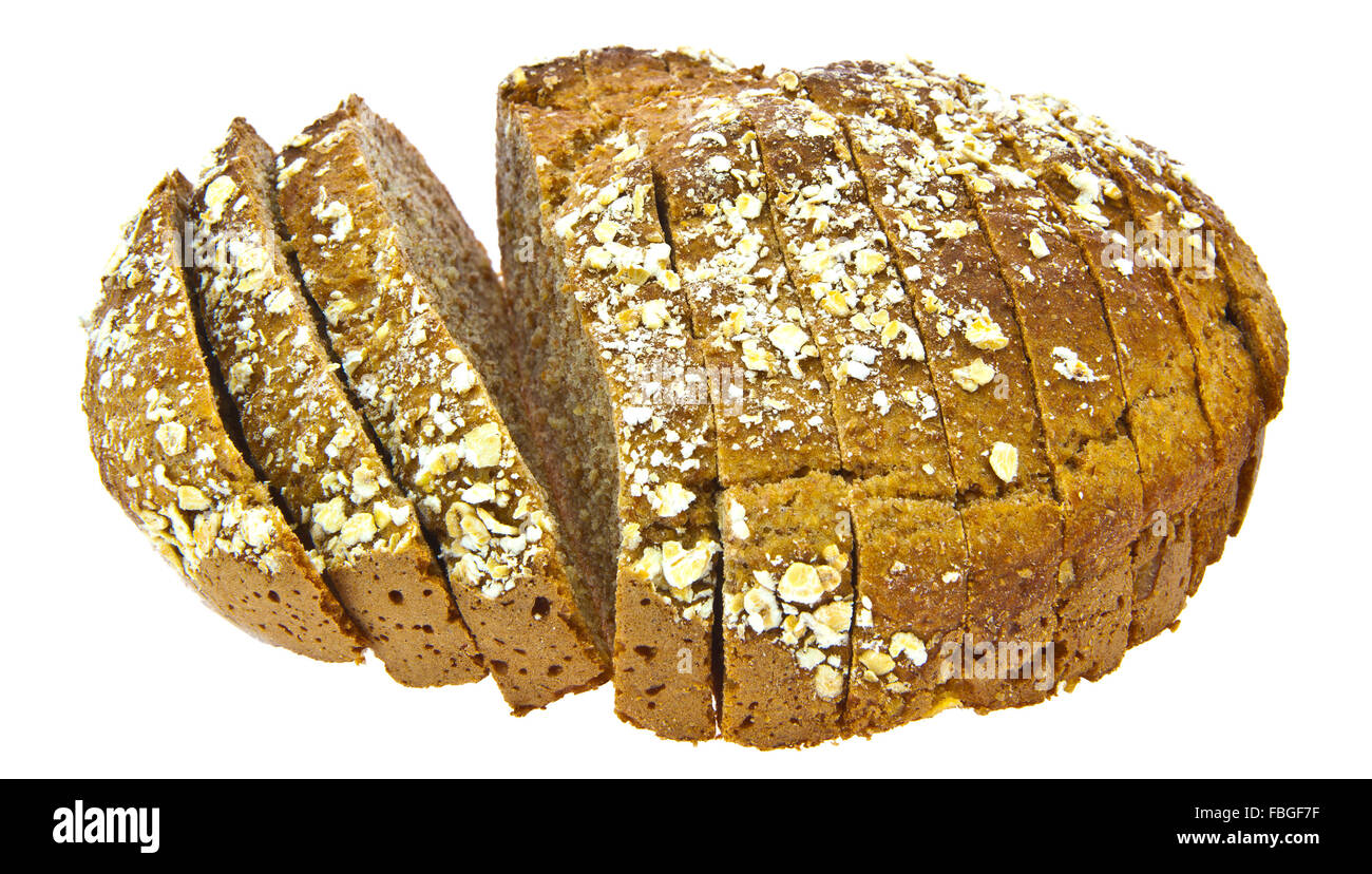 Irish Soda Bread On White Background Stock Photo 93176259 Alamy