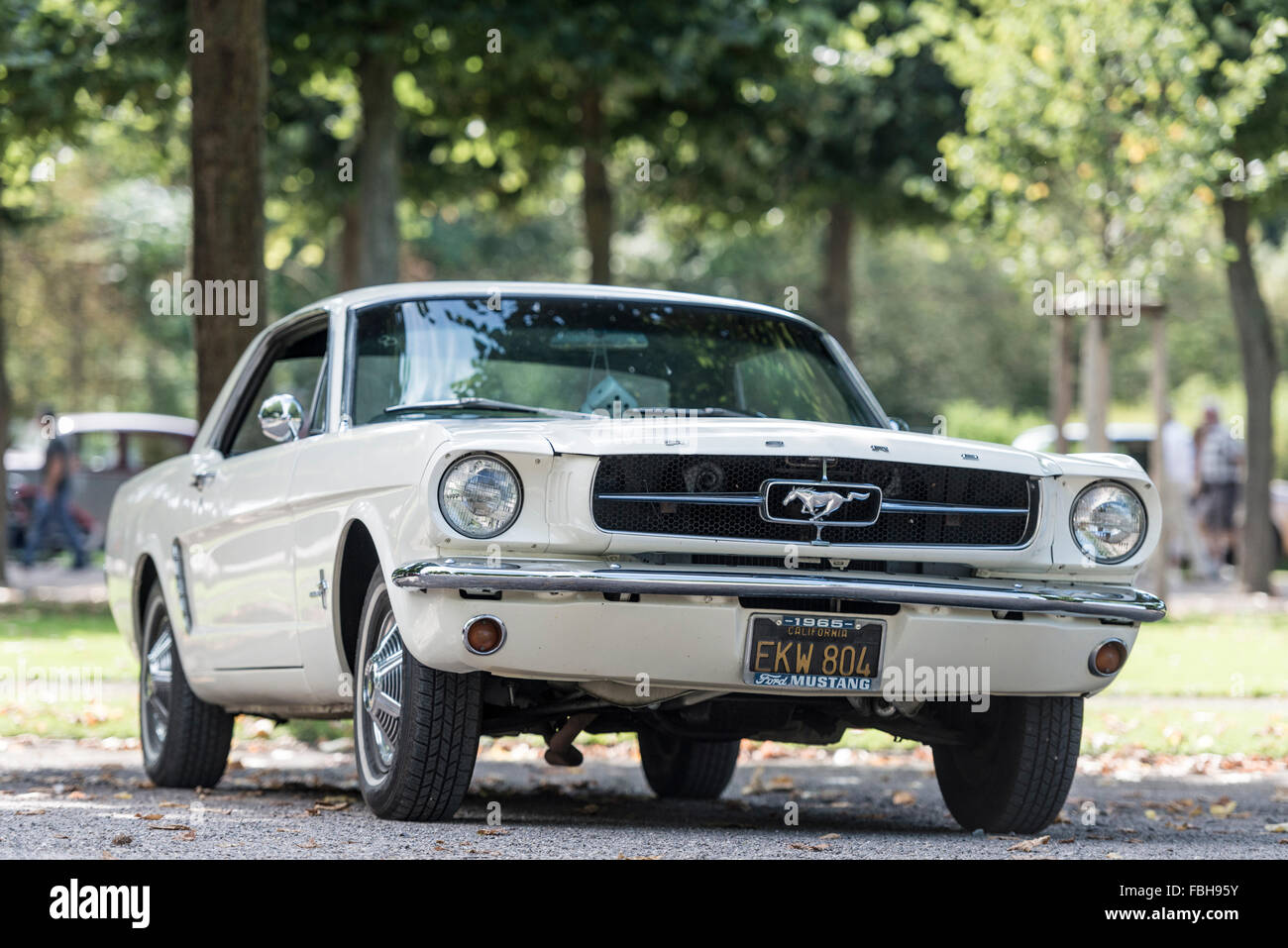 1965 ford mustang coupe stock photos 1965 ford mustang. Black Bedroom Furniture Sets. Home Design Ideas