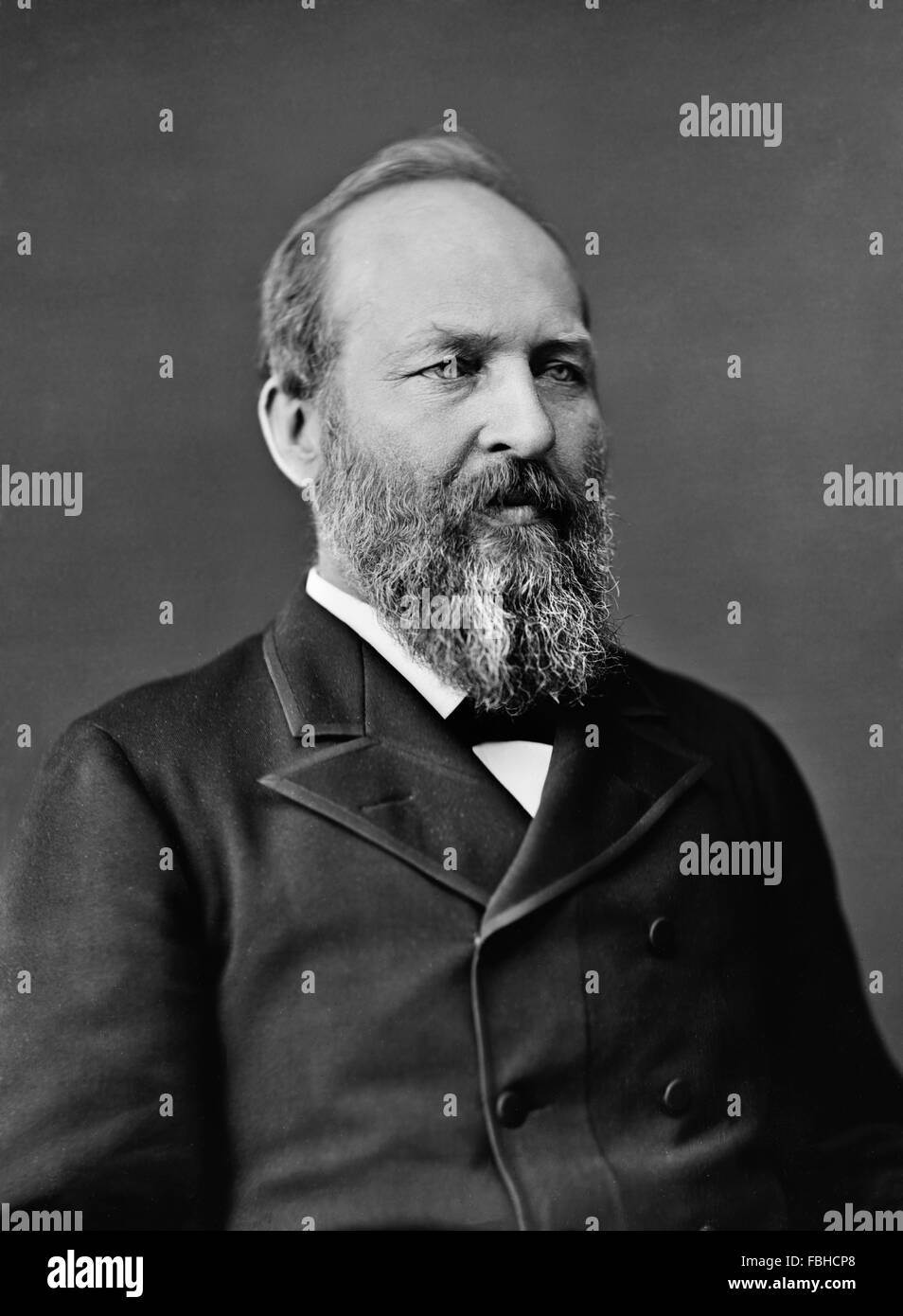 James garfield portrait stock photos james garfield portrait stock