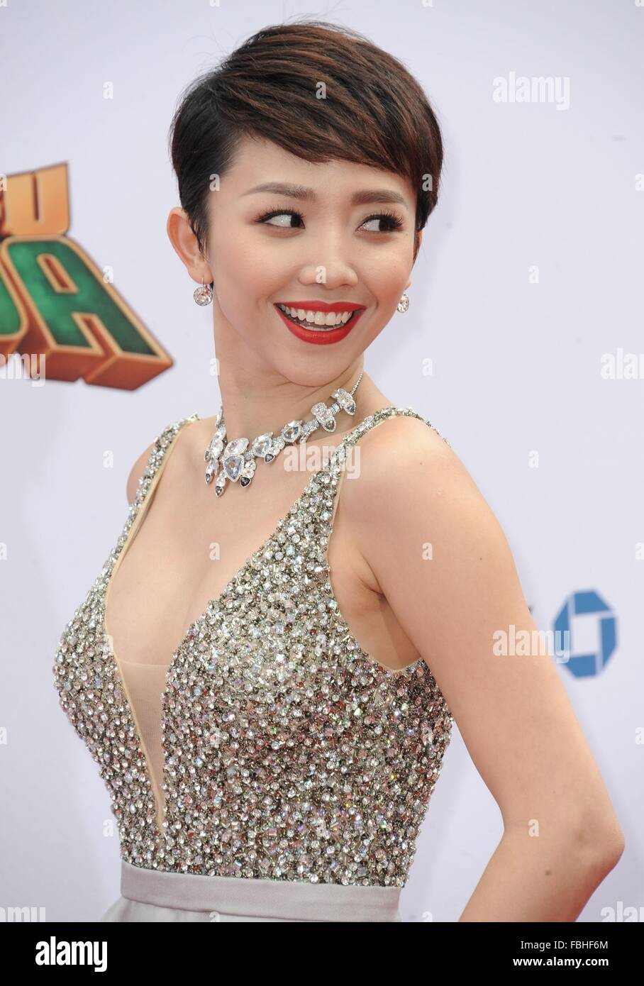 Los Angeles, CA, USA. 16th Jan, 2016. Toc Tien at arrivals for KUNG FU PANDA 3 Premiere, TCL Chinese 6 Theatres - Stock Image