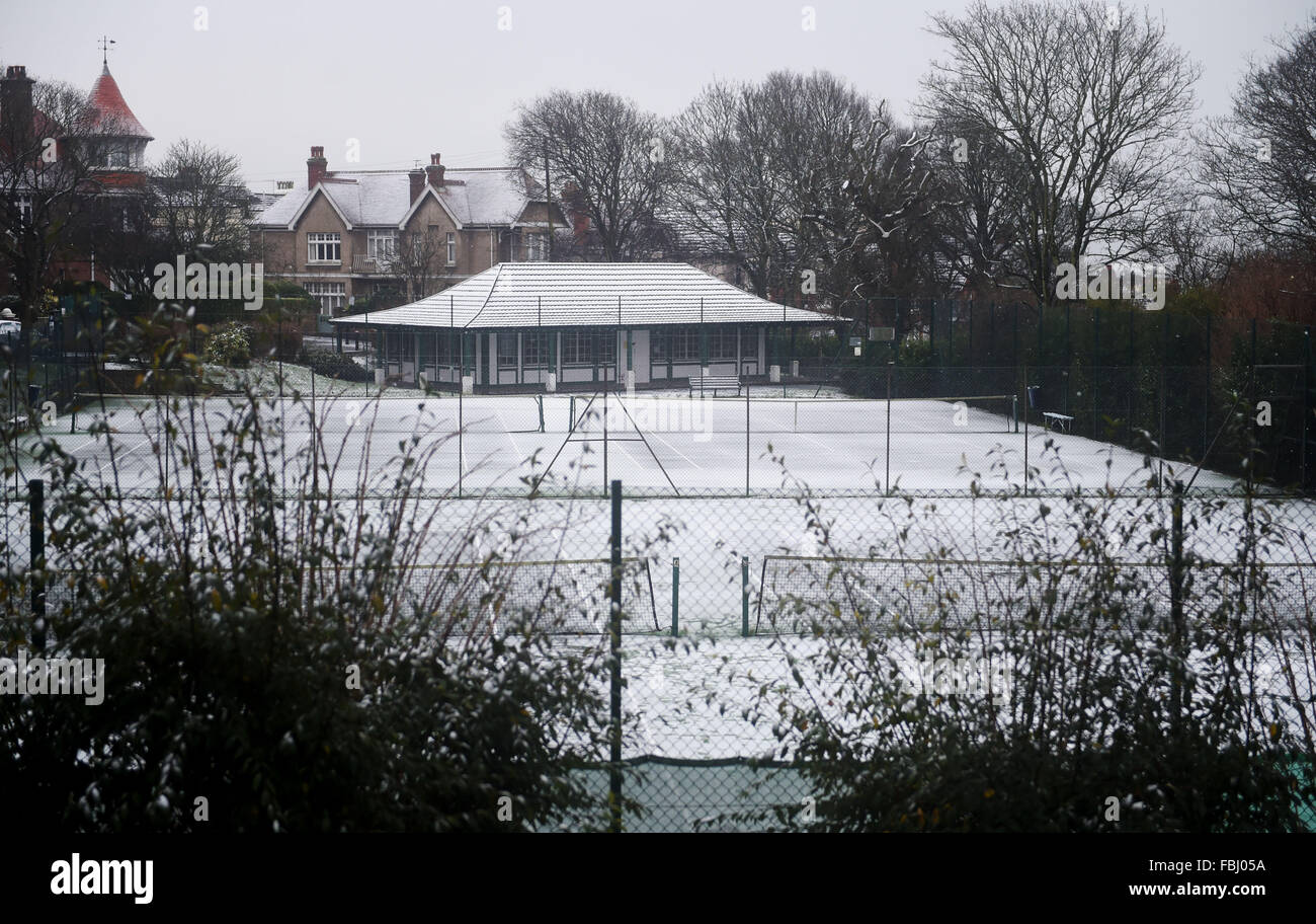 Covered Court High Resolution Stock Photography And Images Alamy