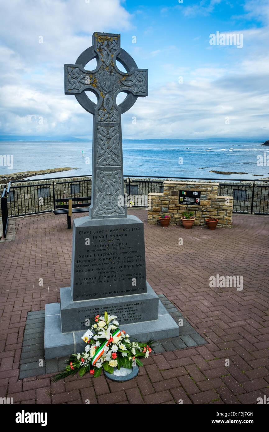 Irish Republican Memorial Stock Photos Irish Republican Memorial