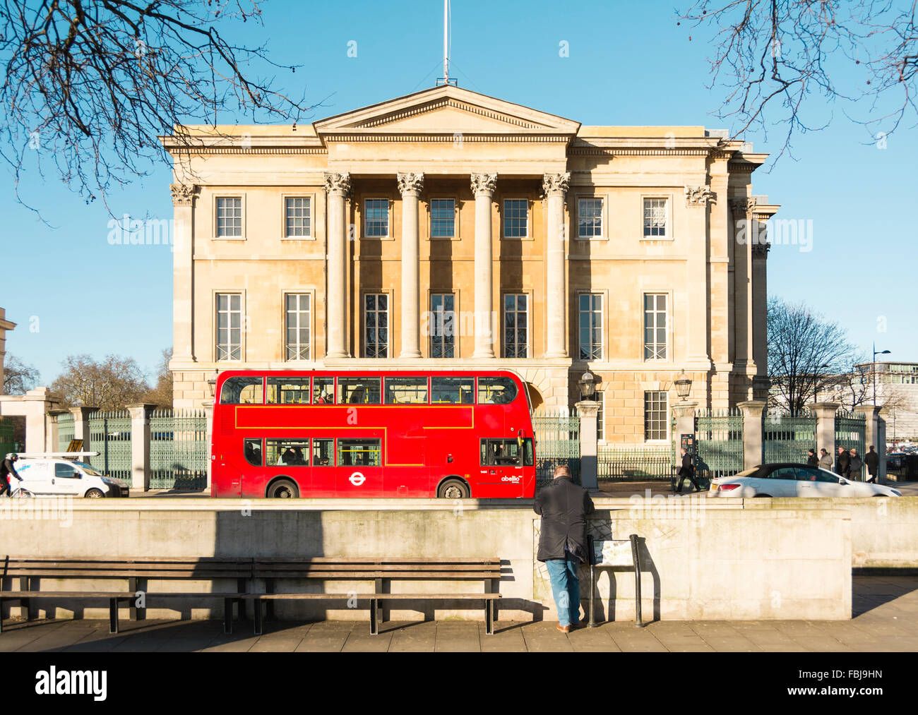 Apsley House, Former home of the Duke of Wellington, Hyde Park Corner, London, UK - Stock Image
