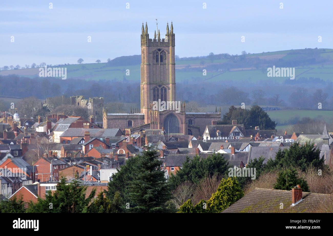 Ludlow, Shropshire, England UK - Stock Image