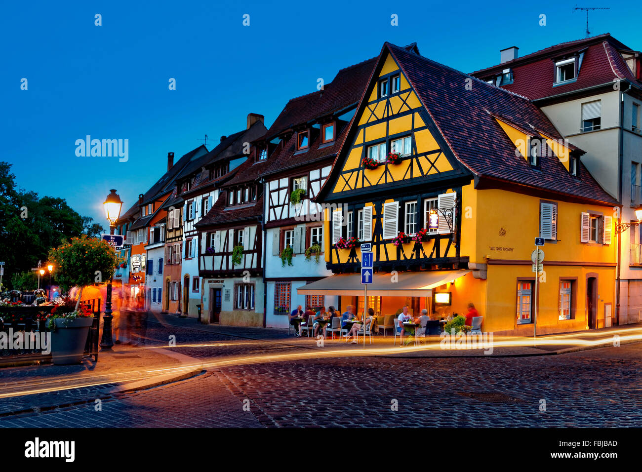 school road in mulhouse france stock photo 93217109 alamy. Black Bedroom Furniture Sets. Home Design Ideas