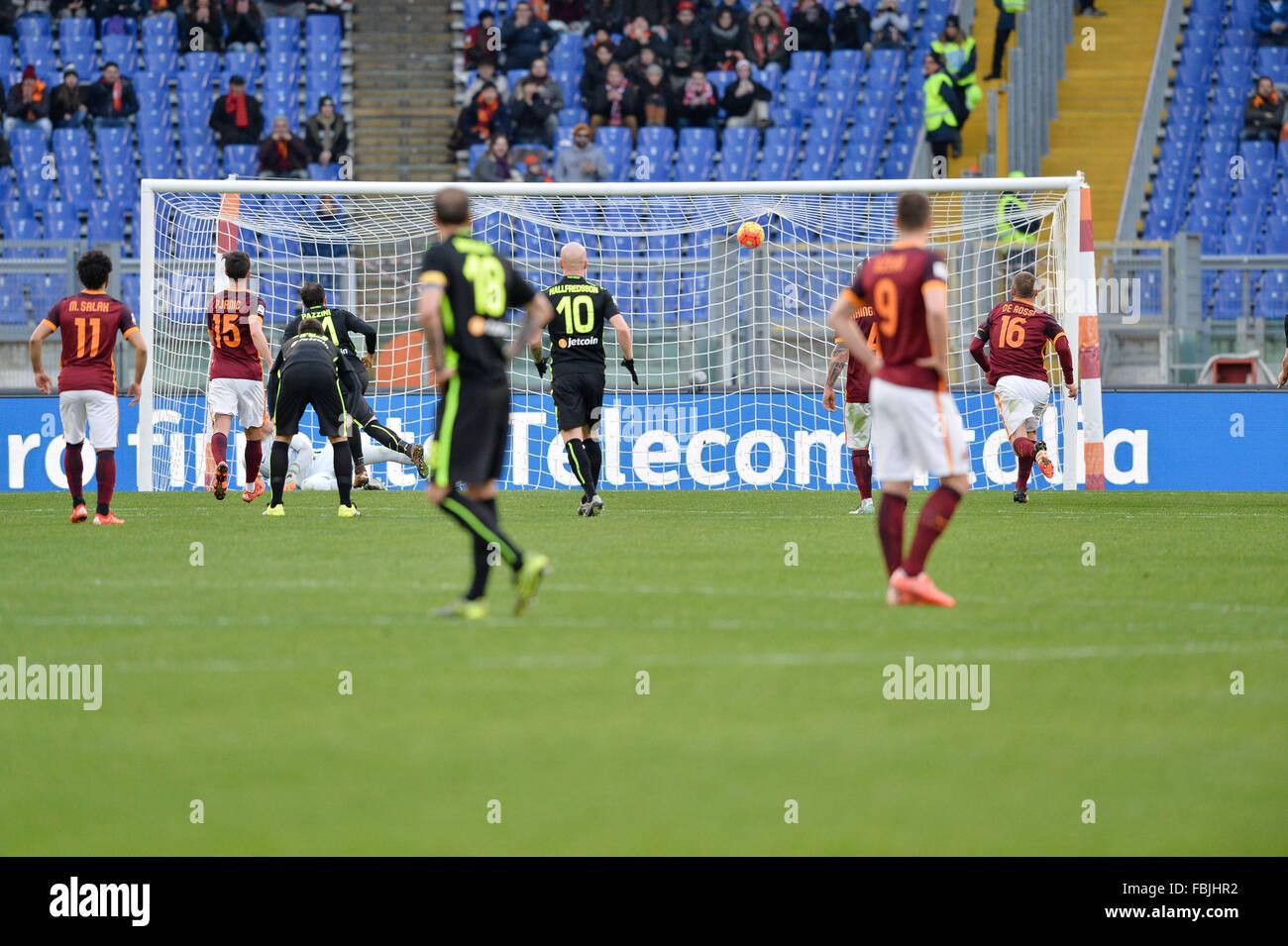 As Roma Italian Serie A - Stock Image