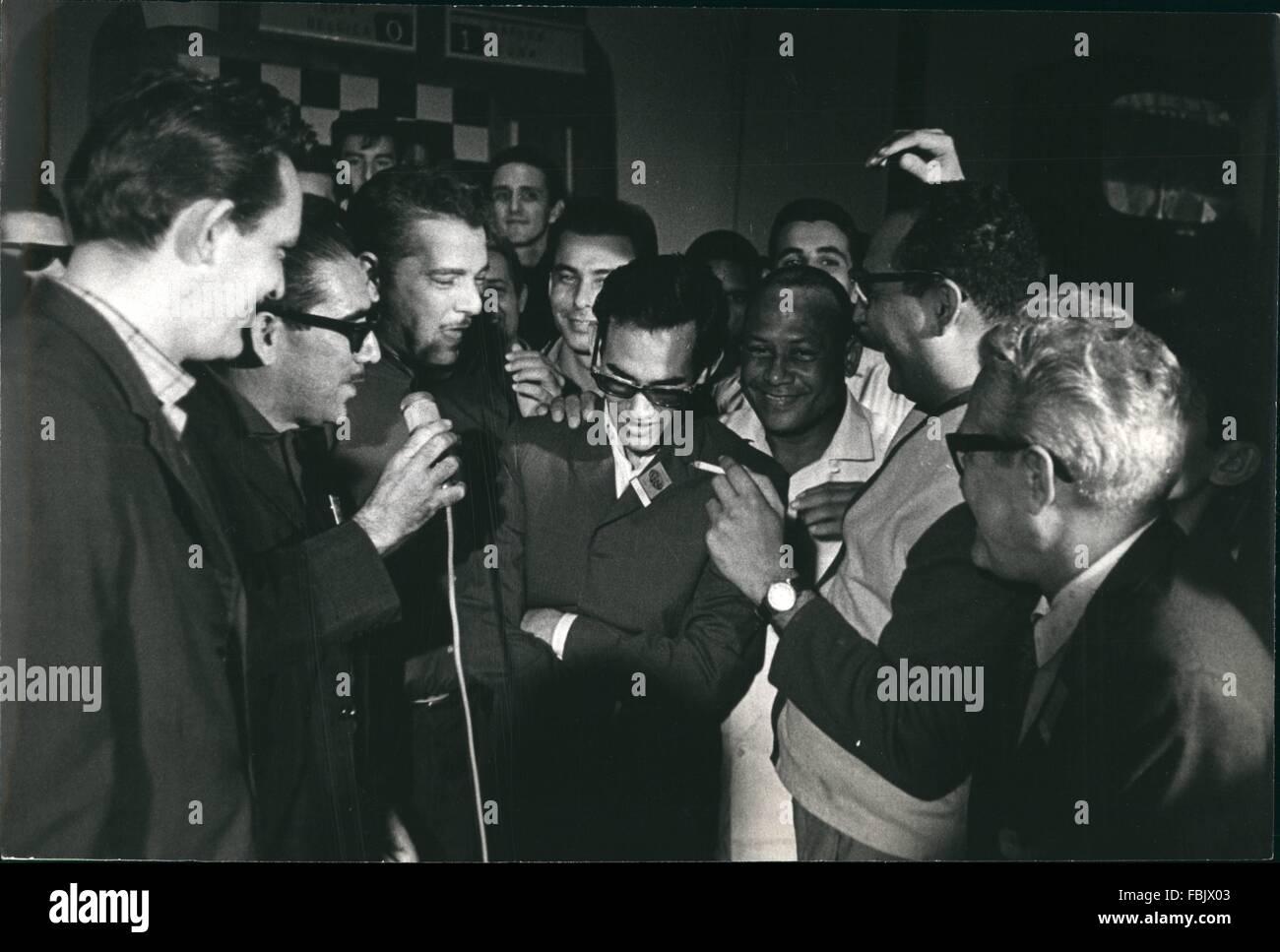 1966 - XVII World Chess Olympics-Havana, Cub November 1966