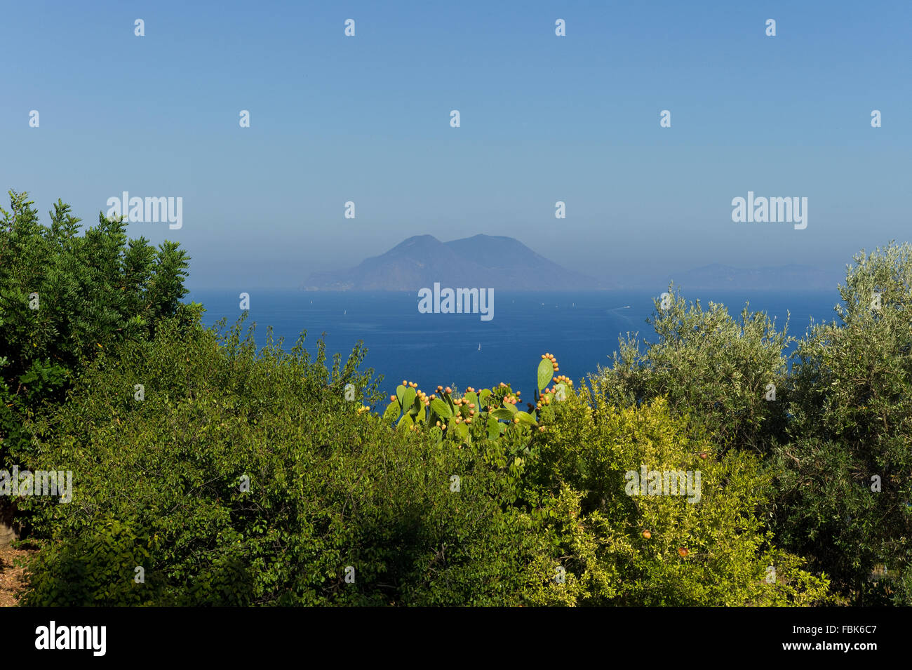 landscape, Sicily, Filicudi Stock Photo