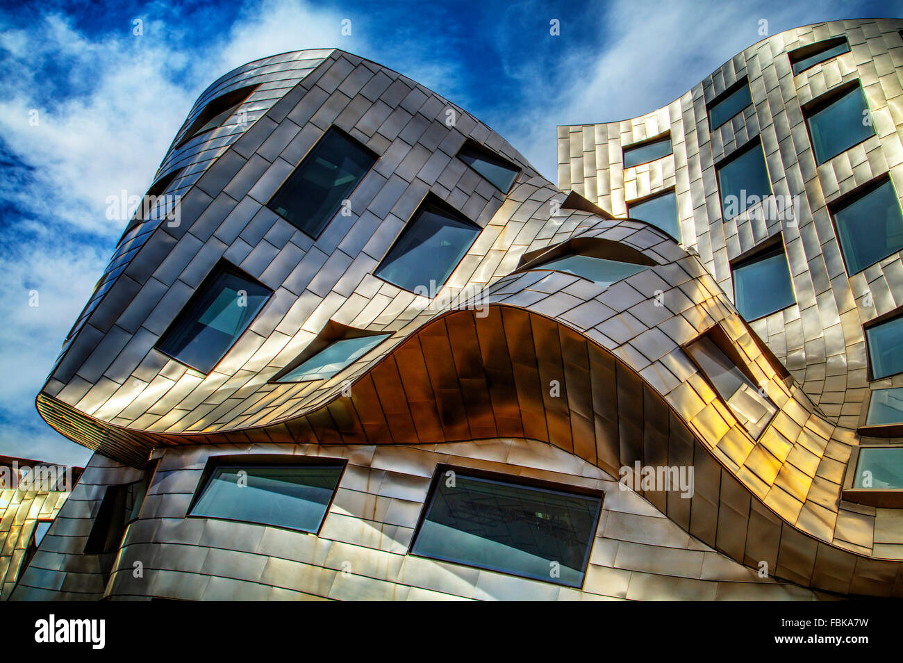 Cleveland Clinic Lou Ruvo Center for Brain Health, architect Frank Gehry, opened on May 21, 2010 in Las Vegas, Nevada - Stock Image