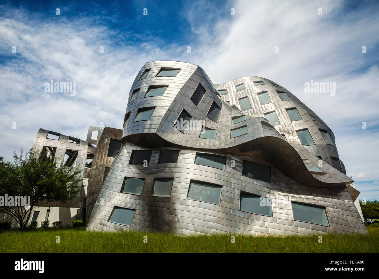 The Lou Ruvo Center for Brain Health, Cleveland Clinic, Las Vegas - Stock Image