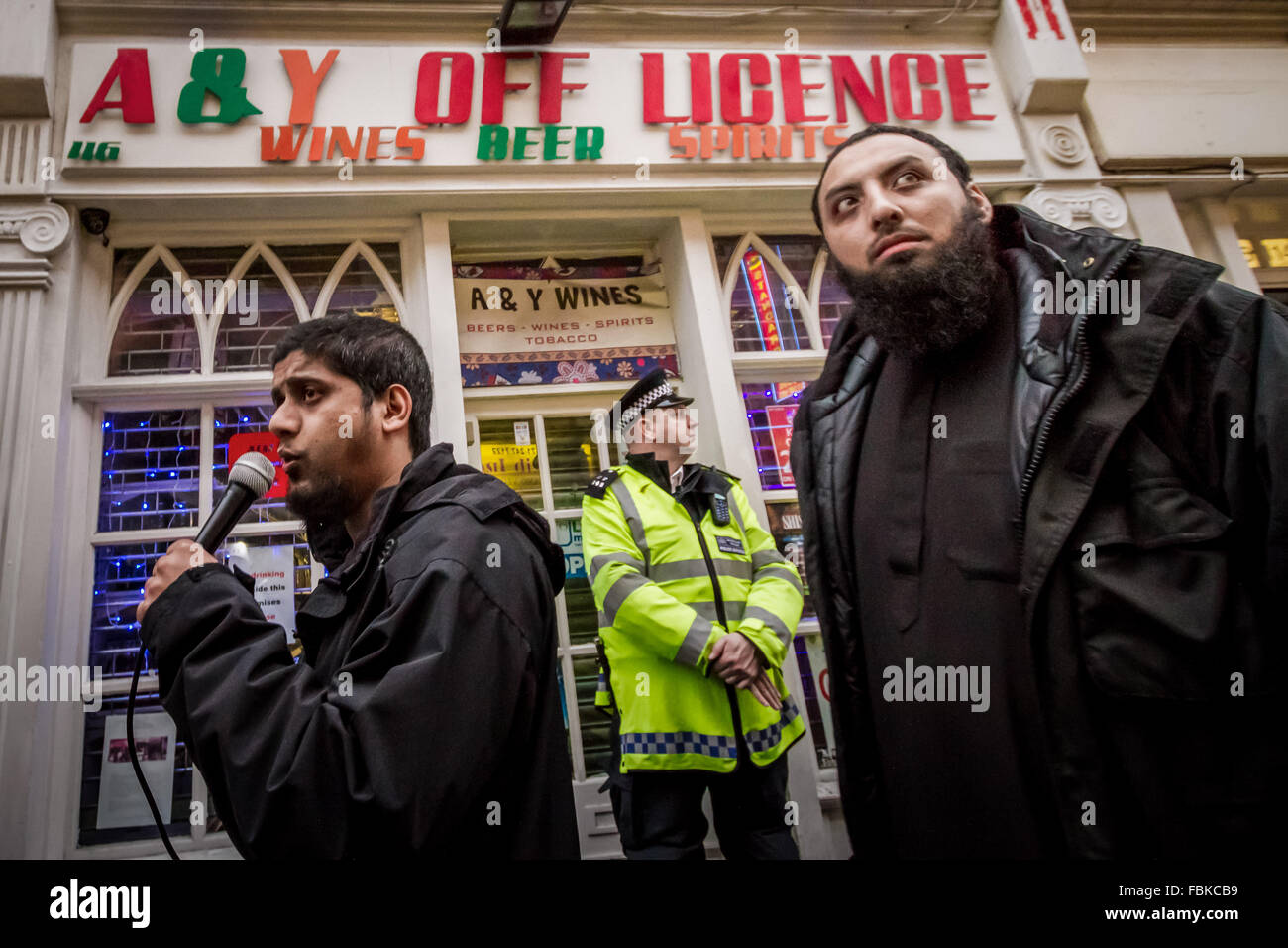 FILE IMAGES: London, UK. 13th Dec, 2013. File Images from 13-12-2013: Mohammed Reza Haque (Right), 35, known as - Stock Image