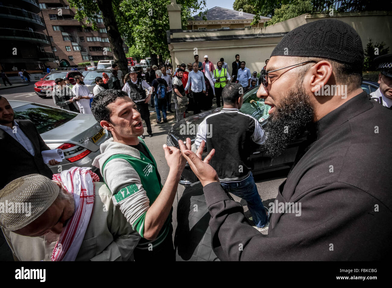 FILE IMAGES: London, UK. 12th July, 2013. File Images from 12-07-2013: Mohammed Reza Haque (Right), 35, known as - Stock Image