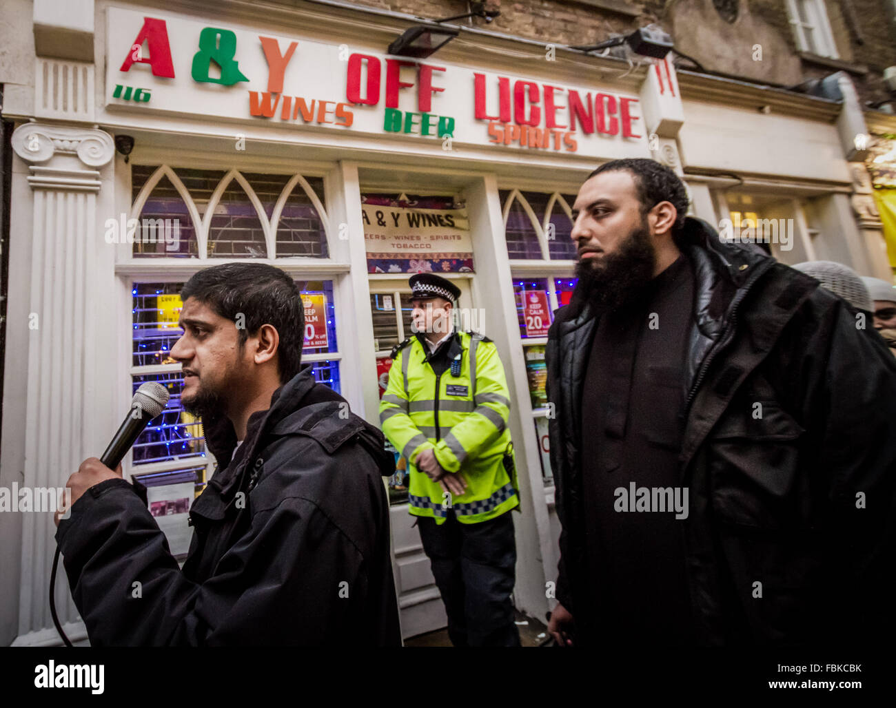 FILE IMAGES: London, UK.13th Dec, 2013. File Images from 13-12-2013: Mohammed Reza Haque (Right), 35, known as the - Stock Image