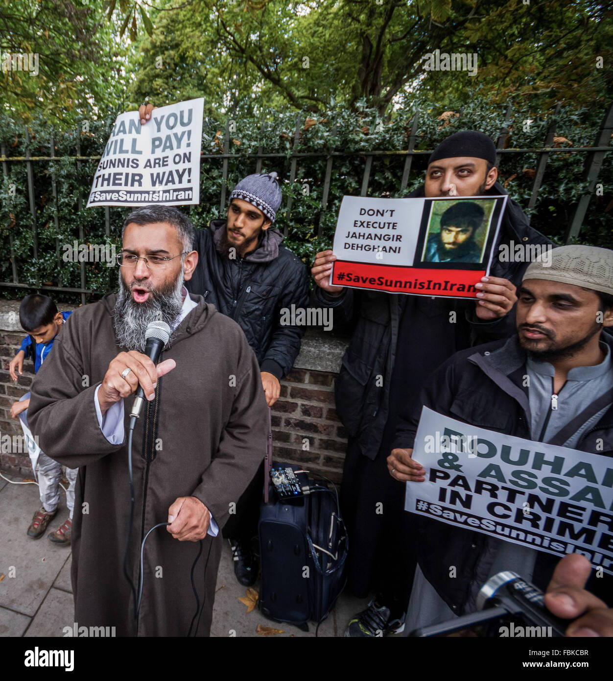 FILE IMAGES: London, UK. 18th Sept, 2013. File Images from 18-09-2013: Mohammed Reza Haque (2nd right), 35, known - Stock Image